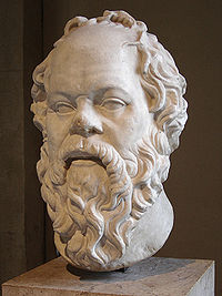 Socrates-@ the Louvre, Paris France
